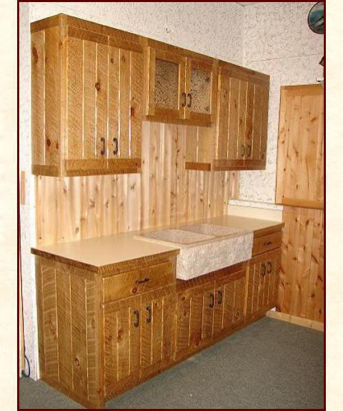 Rough Sawn Cabinetry Custom Designed Amp Built Solid Wood
