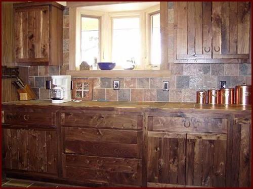 Handmade Solid Wood Rustic Style Cabinetry Minnesota