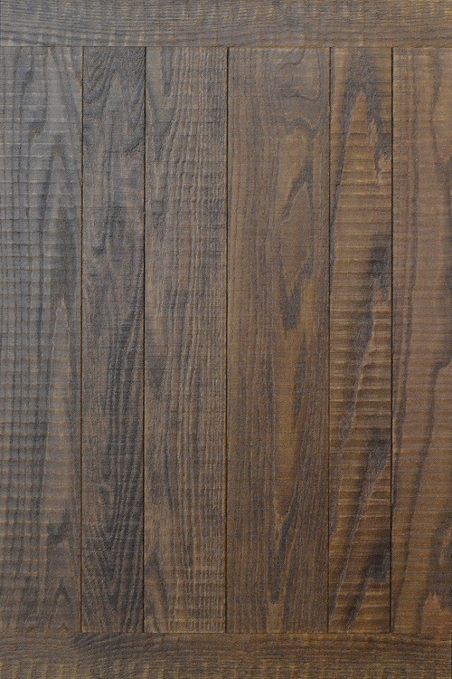 Band Sawn Oak with Dark Walnut FInish